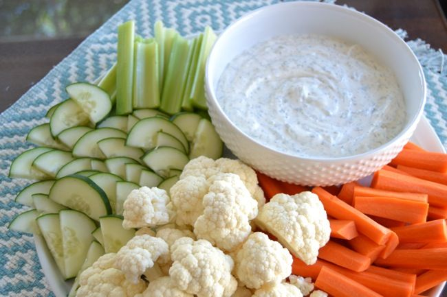 Tasty, Easy Vegetable Dip | yummy looking stuff (party bites) | Pin ...