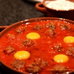 ... kefta tomato and egg tagine recipe food republic kefta tomato and egg