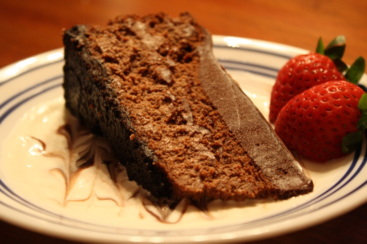 Deep Dark Chocolate Cheesecake | Casa de Lindquist - Food - http ...
