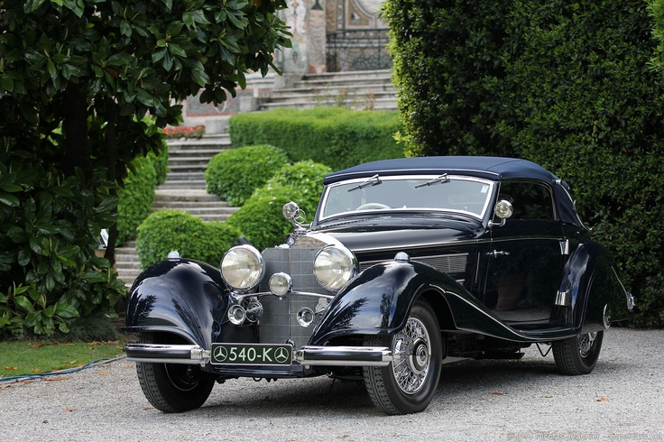 1937 mercedes benz 540k cabriolet a luxery rides pinterest