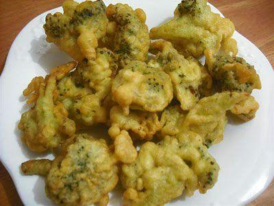resep brokoli goreng tepung crispy food fanpages
