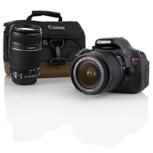 Can we say wish list?? Canon EOS T3i DSLR Camera with Two Lenses, Case ...