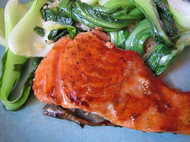 ... glazed salmon glazed salmon sake ginger glazed salmon balsamic glazed