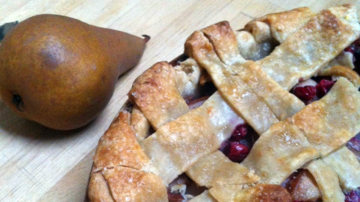 Pear Cranberry Pie | Fruit pies & cobblers | Pinterest