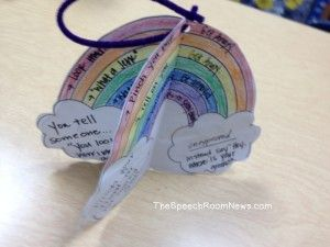 rainbow crafts weather   speech pinterest