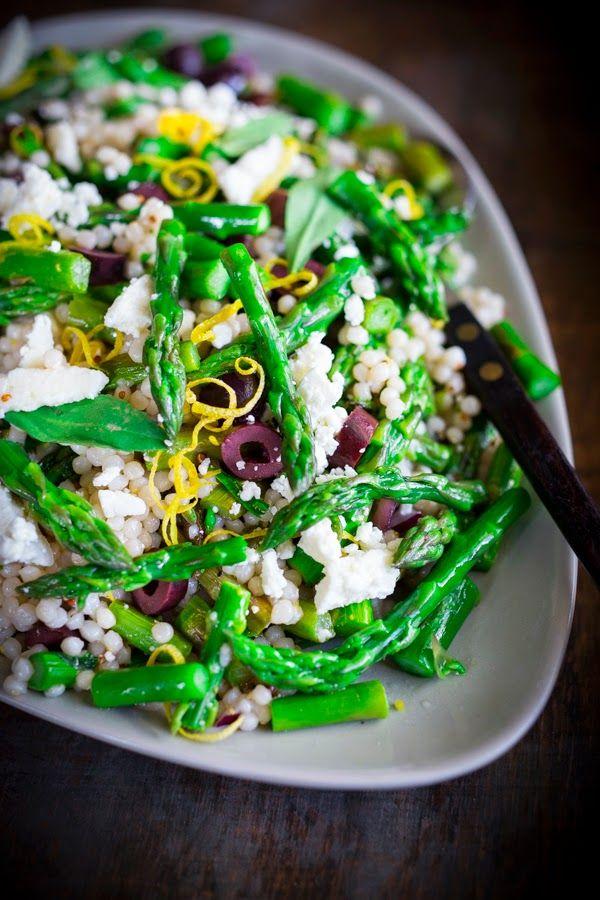 ... at Home: Spring Asparagus Salad | Scrumptous Salads | Pinter