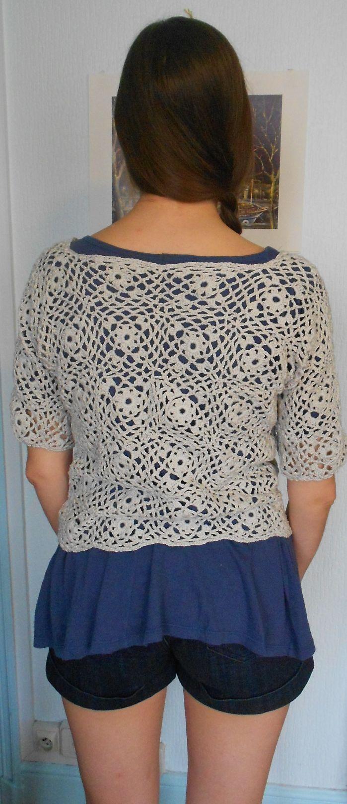 Crochet X Stitch Shrug : Shrug bolero calado Crochet Pinterest