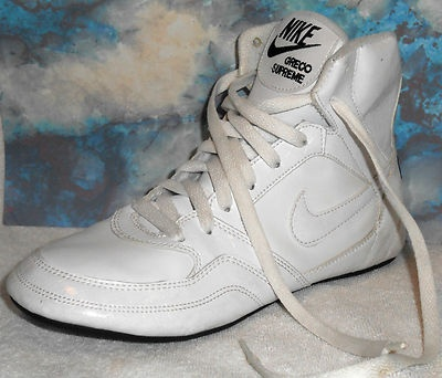 Nike Greco Supreme Wrestling Shoes White