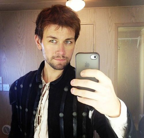 Torrance Coombs BTS ~ Reign: