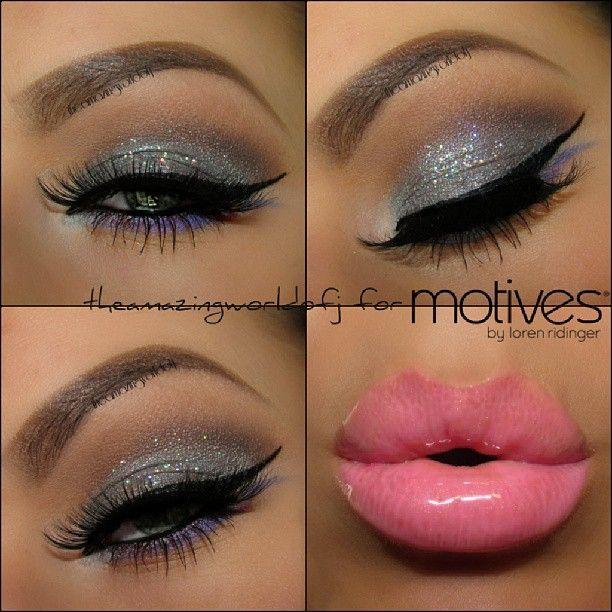 Homecoming eye makeup