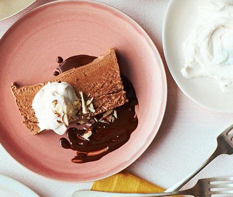 Chocolate Semifreddo with Chile-Chocolate Sauce | Recipe