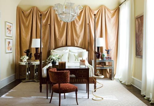 Decorating ideas for a small home diy party home for Decorating walls with fabric ideas