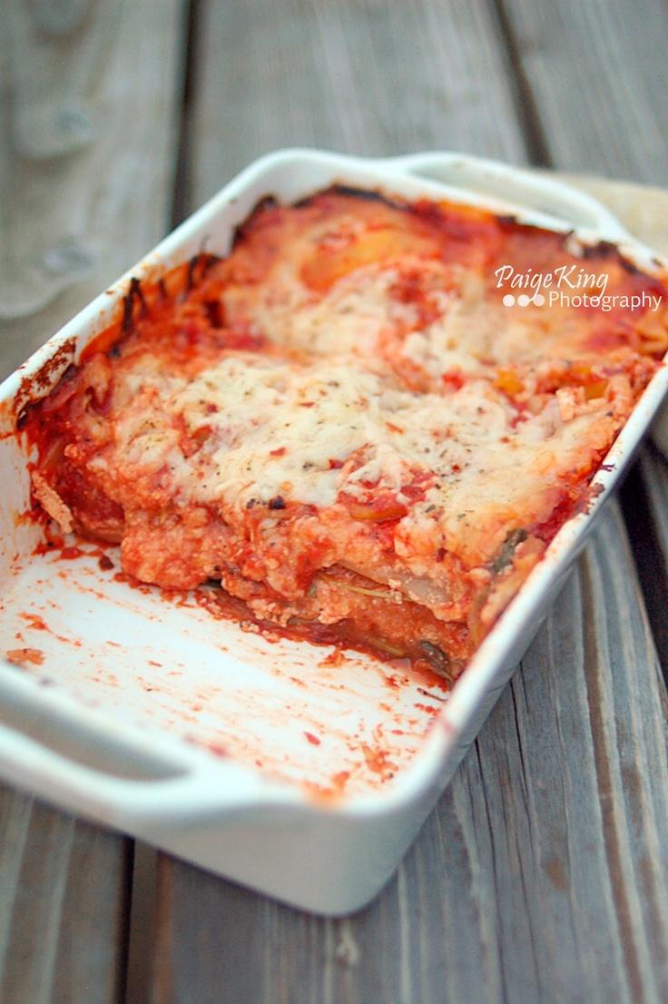 Spaghetti Squash Lasagna | Waistline Watchers | Pinterest