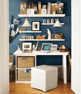 Love this desk area!