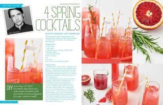 Spring Cocktails! Blood Orange Gin Sparkler- the perfect Spring ...