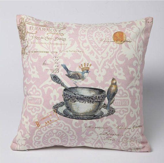 cute bird pillow Pillow Talk Pinterest