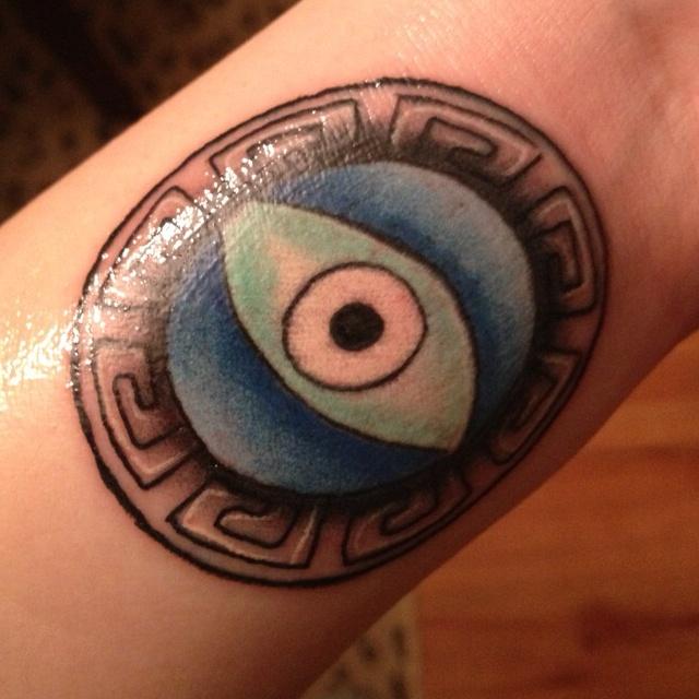 Evil Eye Tattoo | Everything beautiful | Pinterest