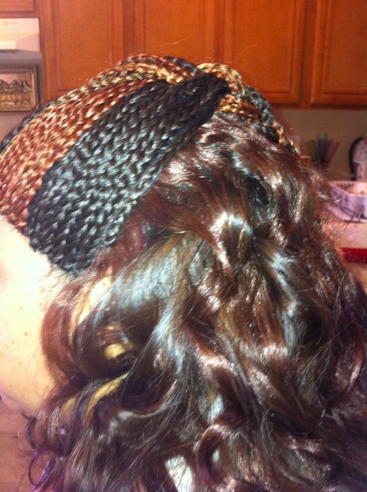 Bonded Quick Hair Weave 95