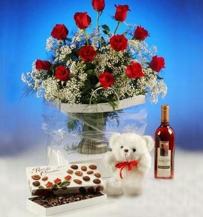valentine box bear