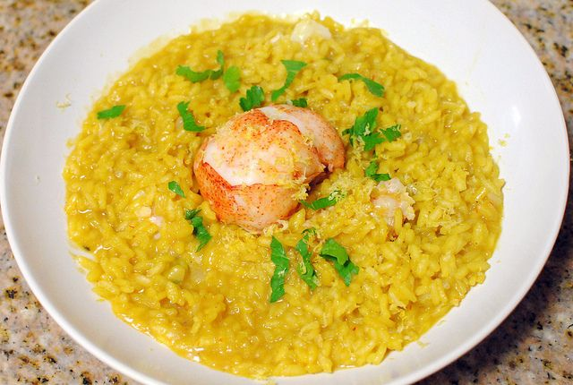 Lobster Risotto | Delicious Looking Food | Pinterest