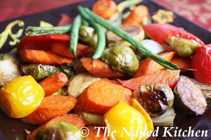 Oven Roasted Vegetables | Good for you! | Pinterest