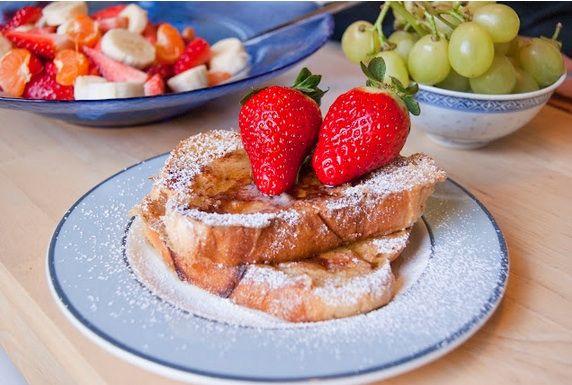 The Secrets of Living: Cinnamon Brioche French Toast