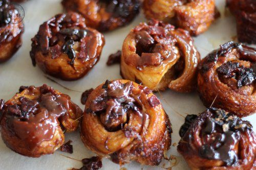 sticky buns maple bacon sticky buns with apples and pecans maple bacon ...