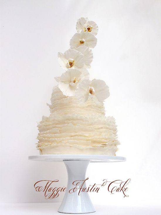 Wedding Cake By Maggie Austin Cake Love Notes Wedding Blog