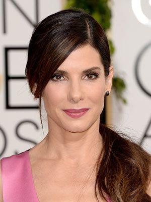 Sandra Bullock Hairstyles   January 13, 2014   DailyMakeover.com