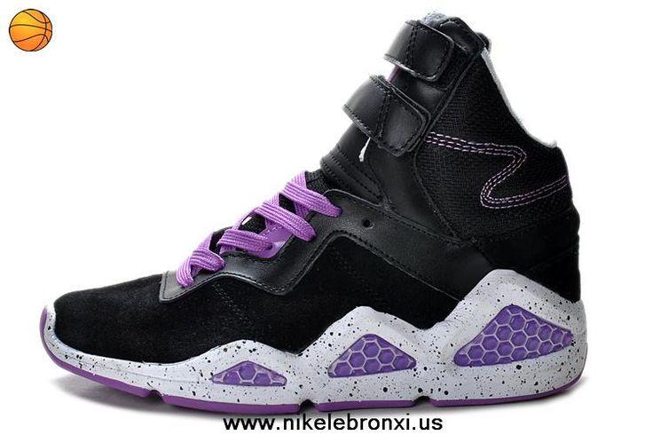 Cheap Black Purple Womens shoes Reebok CL Chi-Kaze Basquiat Sale