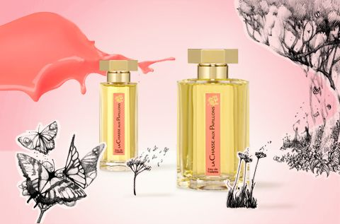 La Chasse Aux Papillions - romantic parisian touch to the southwestern Americana esthetic.  #ORLYCoolRomance #ORLYNails