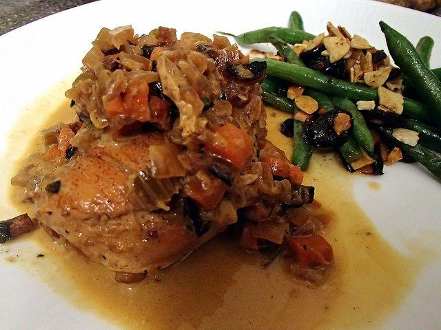 Chicken in White Wine Sauce | Food | Pinterest