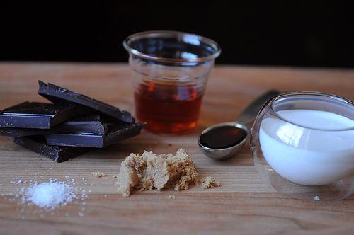 send off to winter - coconut cajeta & chocolate fondue : food52
