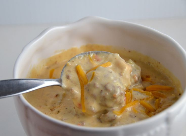 Cheeseburger Soup   Food   Pinterest