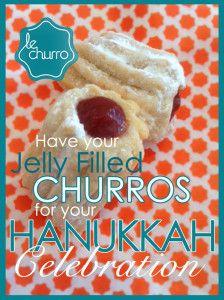 Hanukkah churros | Happy Hanukkah! | Pinterest