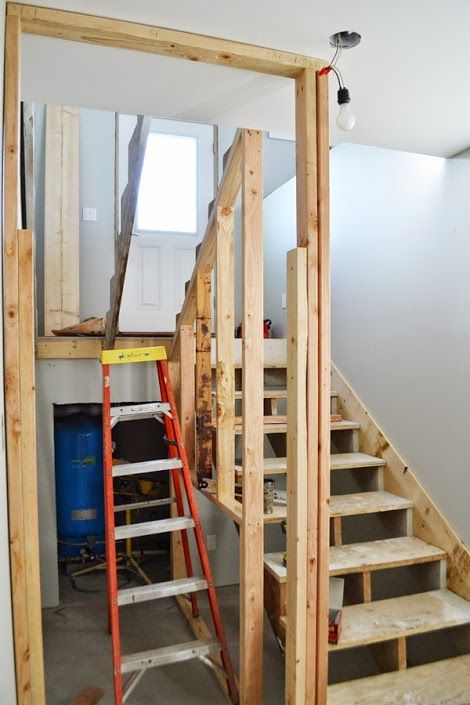 Building a Closet Under the Stairs DIY Pinterest