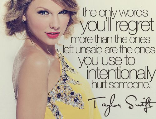 Taylor Swift Quotes From Songs For Facebook Taylor Swift Inspiring Quotes