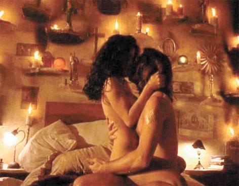 """Su primera escena de cama en la Meca del Cine se remonta a 1995 cuando juntos protagonizaron la película """"Desperado"""" (""""El Mariachi"""") de Robert Rodriguez"""