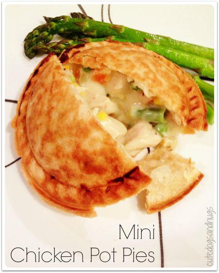 Mini Chicken Pot Pies | Yummy Stuff | Pinterest