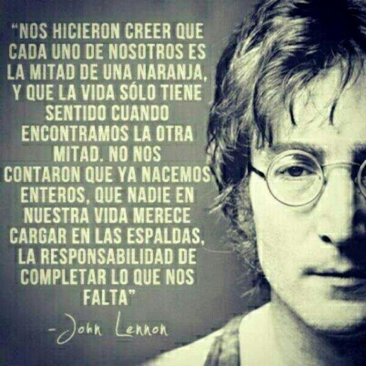 Excelentes pensamientos de John Lennon 08f956162c2f192d1806352e97ab7830