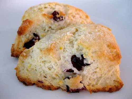 Lemon Cranberry Scones | Sweet Breads | Pinterest
