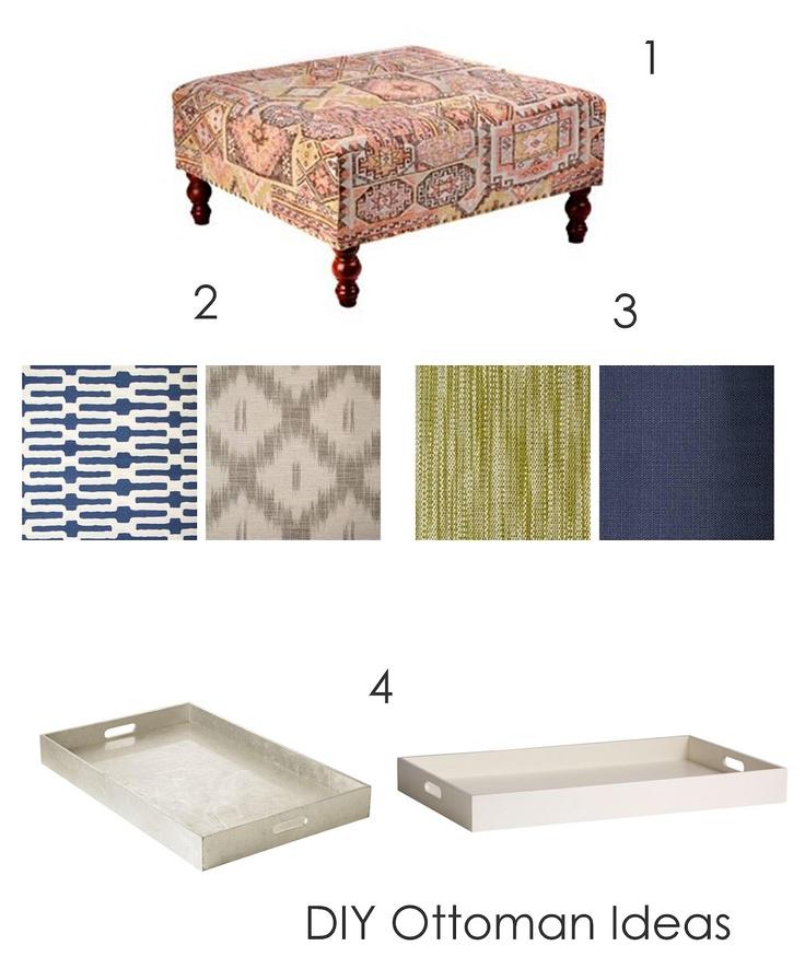 Diy Ottoman Ideas Pallet I Can Do That Wood Pinterest