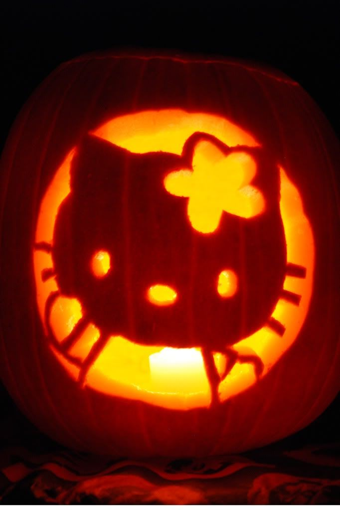 hello kitty pumpkin hello kitty stuff pinterest