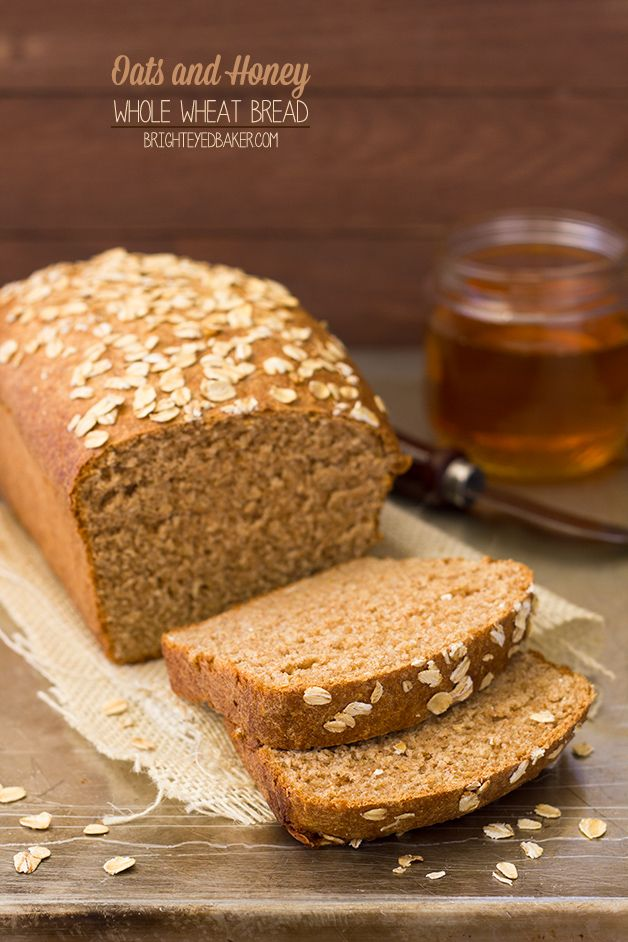 Bread - say goodbye to boring whole wheat bread! This version is light ...