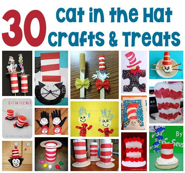 ... Cat in the Hat Crafts and Treats we found worth sharing! www