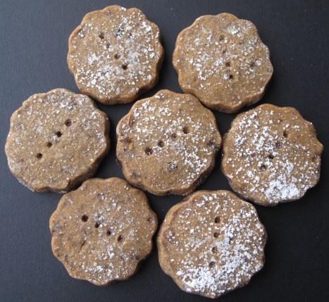 Espresso Chocolate Shortbread Cookies | CHOCOLATE | Pinterest