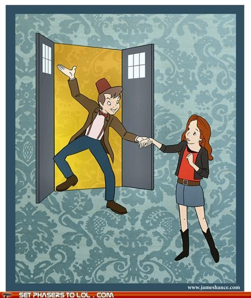 Peter Pan and Dr. who