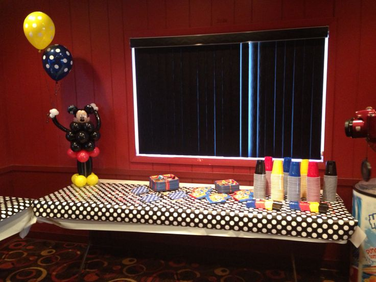 mickey mouse theme baby shower