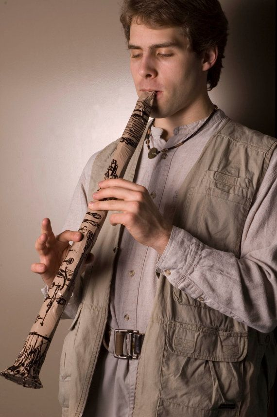 Duct Tape Clarinet.