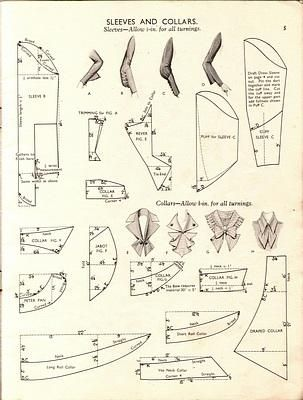 1930s Sleeves and Collars pattern